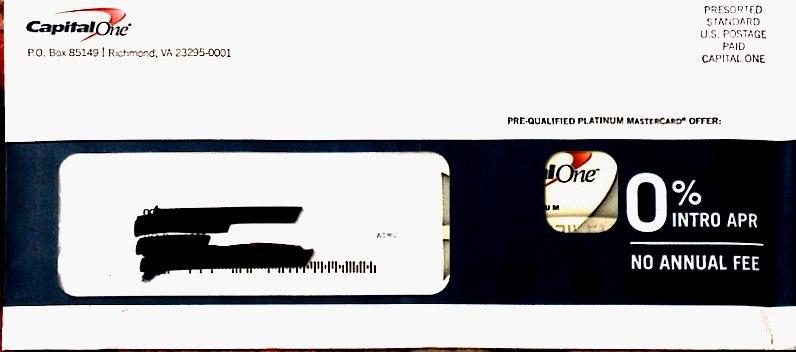 Envelope-Capital One